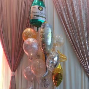 Champagne-Mylar-HBD-Balloon-Bouquet